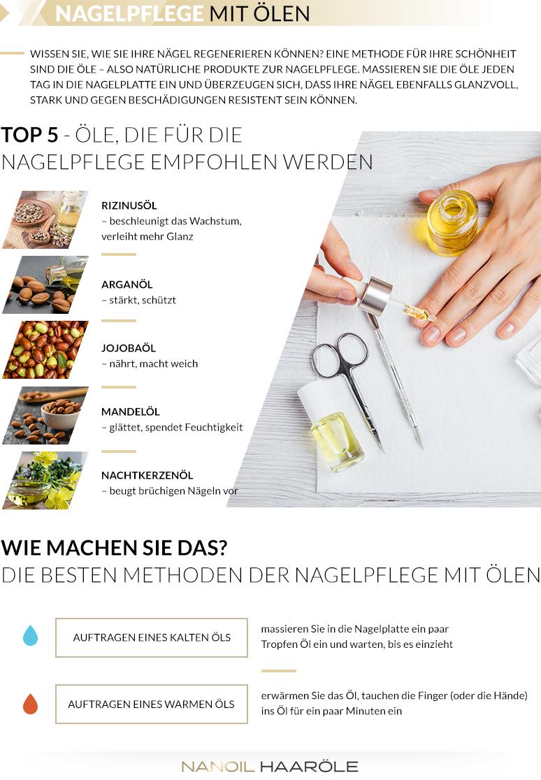 Nagelpflege mit Ölen