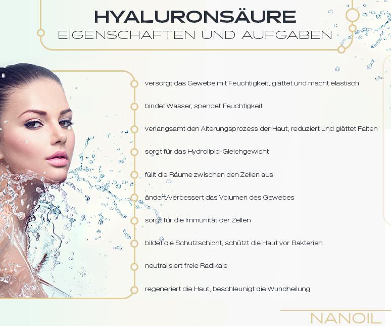 Hyaluronsäure - Eigenschaften und Aufgaben